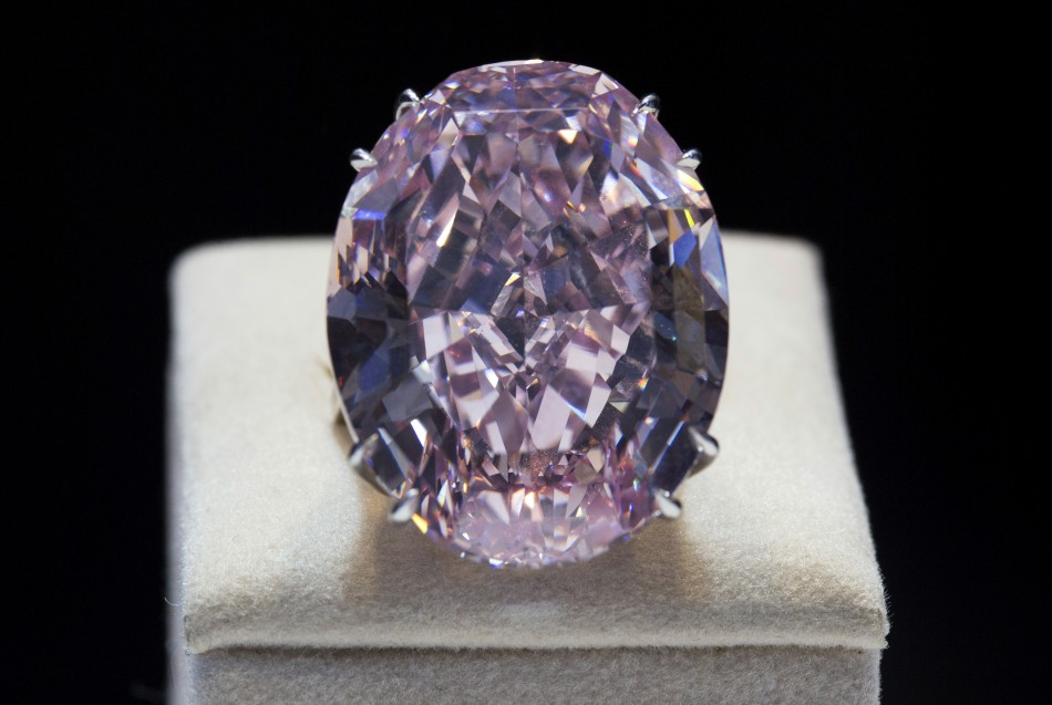 Pink Diamond Shatters All Auction Records