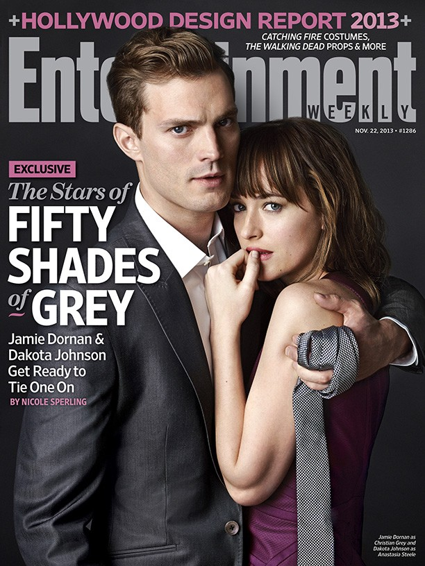Fifty Shades of Grey First Look Out Now: Christian Grey and Anastasia Steele Pose For Photos Together