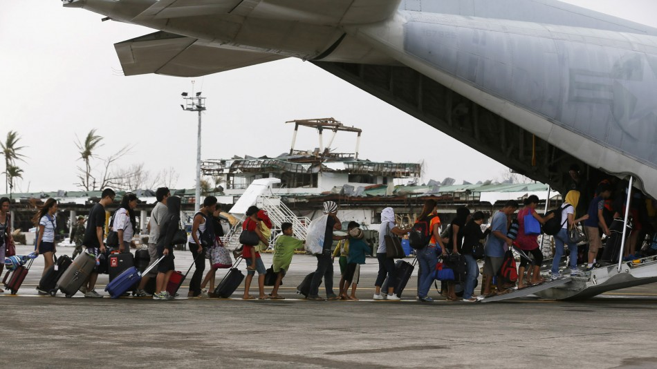 Philippines Relief work after Typhoon Haiyan