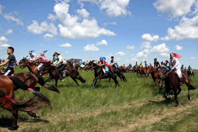 Ethnic Mongols facing land grab