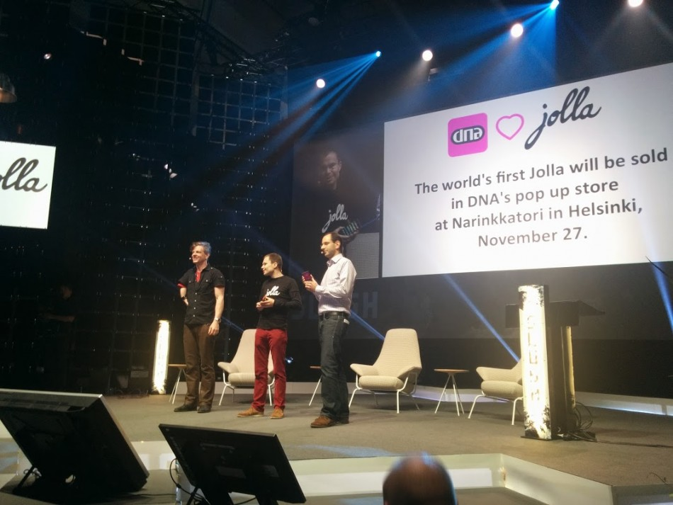 Jolla Smartphone Goes on Sale 27 November in helsinki