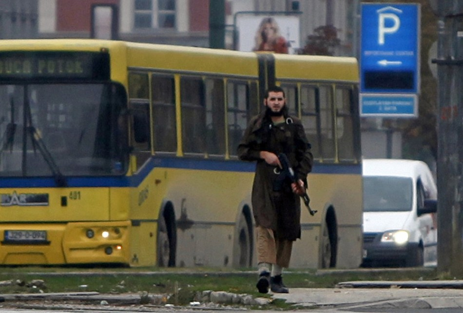 Bosnia Attacker