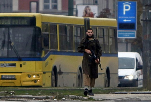 Bosnia Attacker