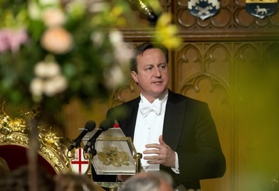 Cameron at Lord Mayor's banquet