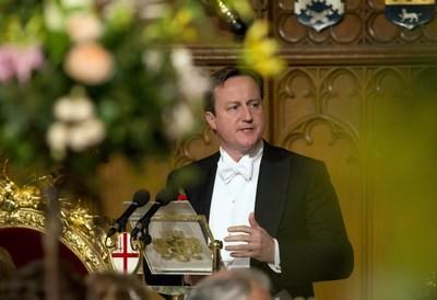 Cameron at Lord Mayor's banquet