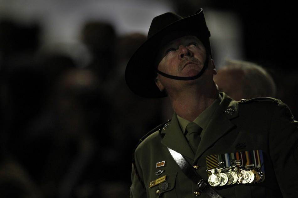 Australian member of the army