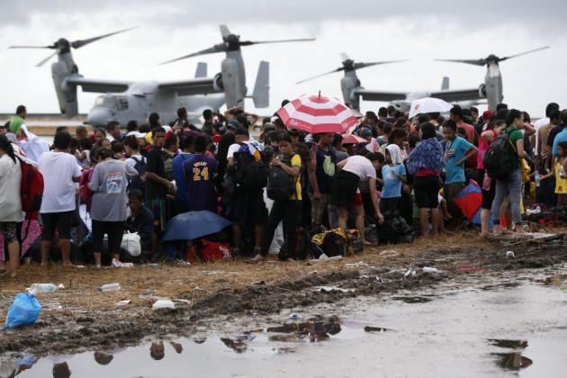 typhoon Haiyan relief Philippines