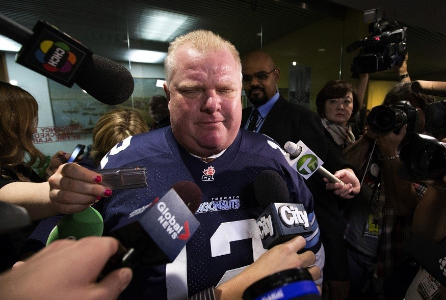 "Toronto Mayor Rob Ford branded cocaine claims ""100% lies"" PIC: Reuters"