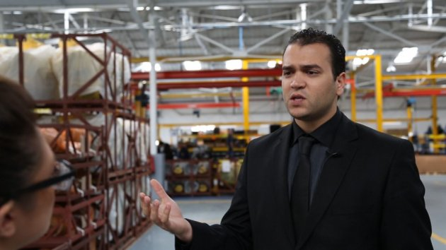 Medicars assembles pick-up trucks for India's Mahindra, as well as for Isuzu and Mitsubishi. Yassine Ben Abdallah speaks to IBTimes UK in Sousse (Photo: Alfred Joyner, IBTimes UK)