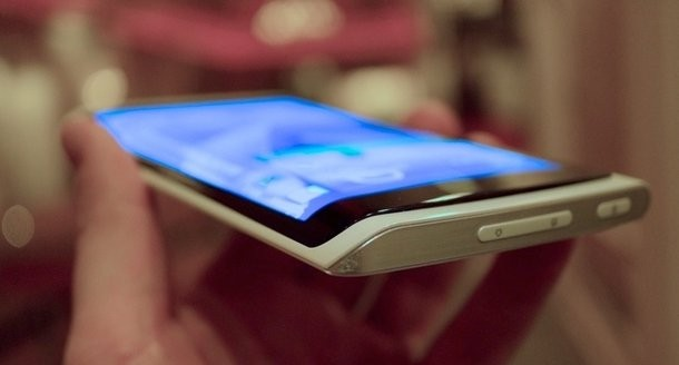 Samsung curved phone screen