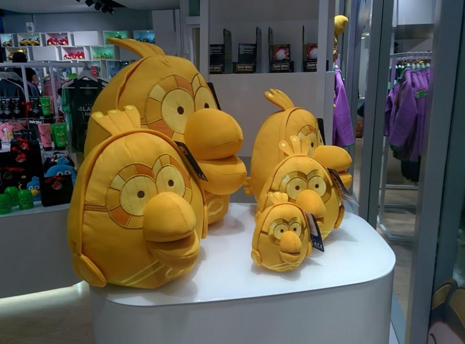 Rovio's Angry Birds store in its Helsinki headquarters