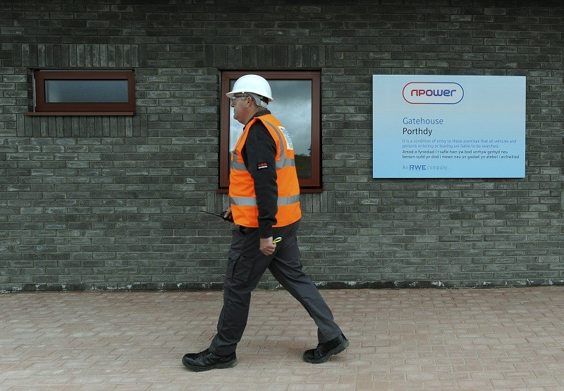 Npower worker