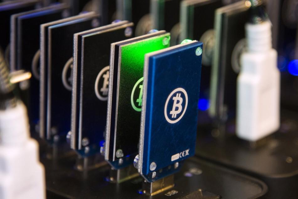 Bitcoin mining rig