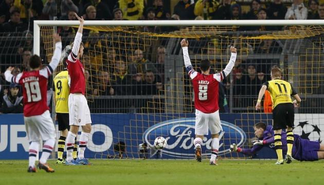 Dortmund v Arsenal
