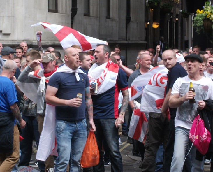 English Defence League set to march in Exeter this weekend PIC: IBTimes UK