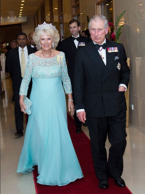 Prince Charles and Camilla host dinner for heads of Commonwealth nations in Colombo. (Photo: Clarence House)