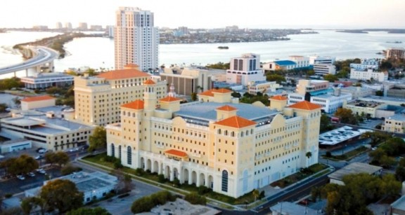 The Florida HQ is billed as the most important Scientology religious retreat. (Pic: Scientology.org)