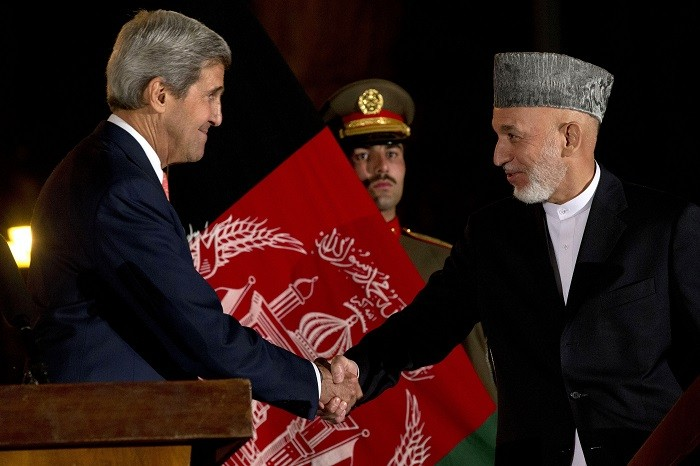 The proposed security pact between Afghanistan and the US would allow American troops to stay on in Afghanistan after 2014. (Reuters)