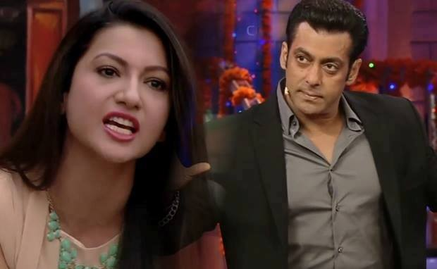 Salman Khan supported Gauhar over the luxury budget task issue