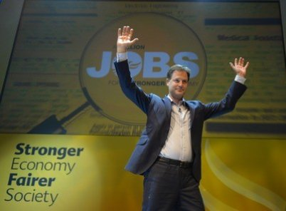 Clegg widens rift with Tories