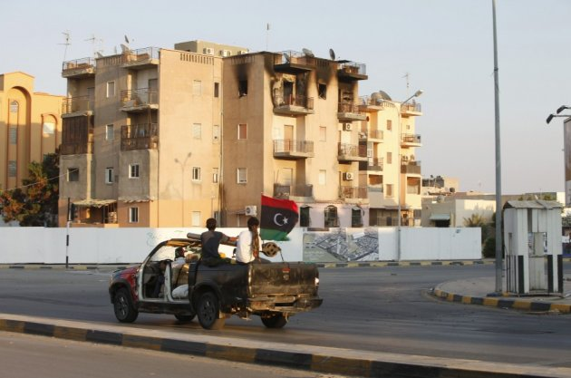 A three-day strike was called in Tripoli in protest at the recent militia attacks.