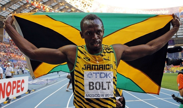 Usain Bolt is named World Athlete of the Year after claiming three gold medals in Moscow's World Championships. (Reuters)