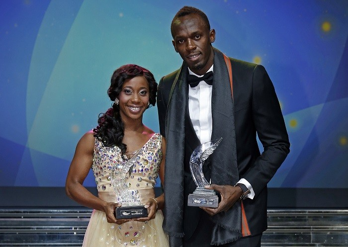 It was a double win for Jamaica on Saturday, with sprinter Shelly-Ann Fraser-Pryce claiming the female World Athlete of the Year award. (Reuters)