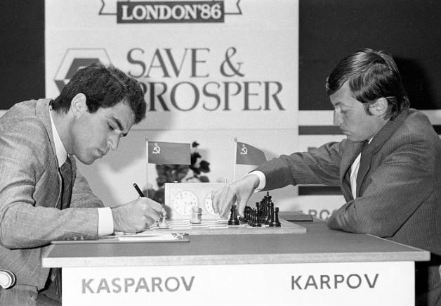 Kasparov v Karpov