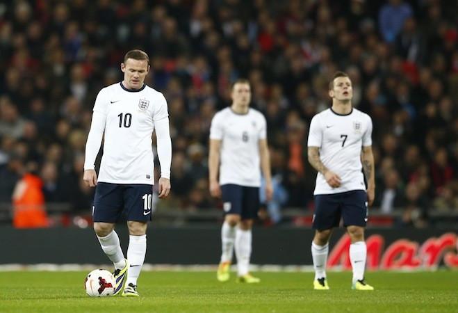 England v Chile