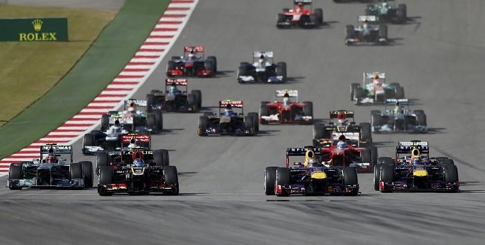 Vettel Formula One US GP