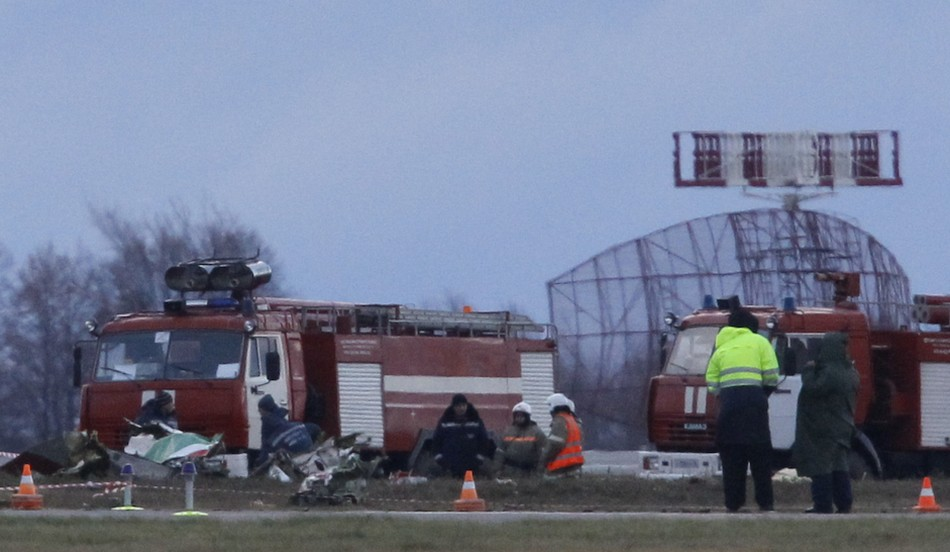 Russia authorities consider terror plot could be behind plane crash