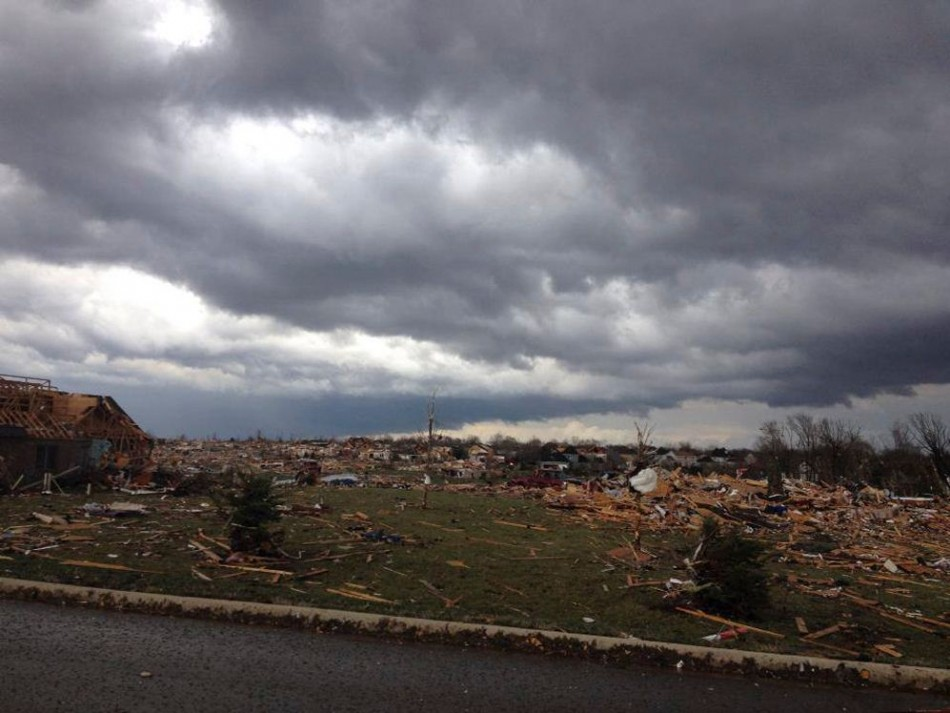 Tornado has left a large part of Washington in ruins. (Photo: Reuters)