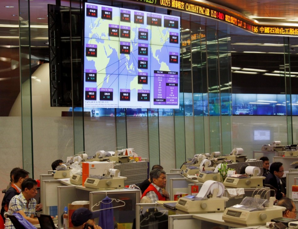 Asian markets outside Japan and Australia trade higher on 18 November