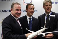Airbus orders at Dubai Airshow 2013