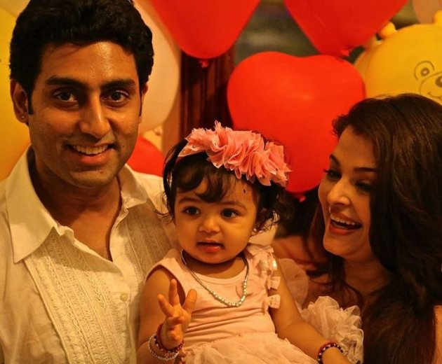 Aishwarya, who was supposed to play the lead in Madhur Bhandarkar's Heroine in 2011, had to drop out of the movie casting due to her pregnancy. She had been on a break ever since. The couple have a daughter together, aaradhya [Facebook/World of Aish]