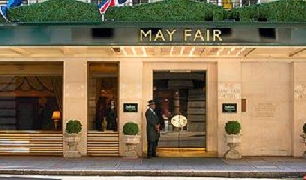 The May far in London is one of the hotels run by the  Radisson Blu Edwardian Hotels group