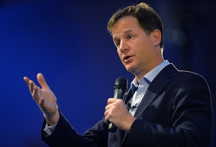 Britain's deputy prime Nick Clegg has hinted that the rumours that the government is slapping foreign property investors with a new capital gains tax is true. (Photo: Reuters)