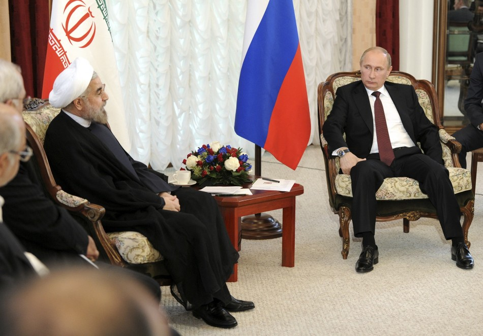 Putin calls Rohani