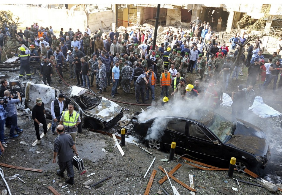 beirut bomb embassy iran