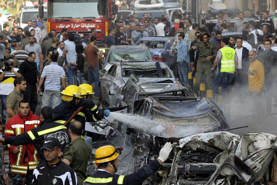 Beirut bomb iran embassy