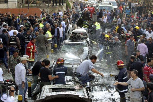 Beirut bomb lebanon hezbollah