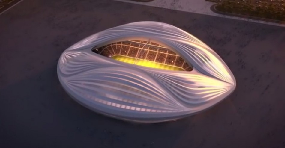 Qatar's 2022 World Cup stadium resembles a vagina