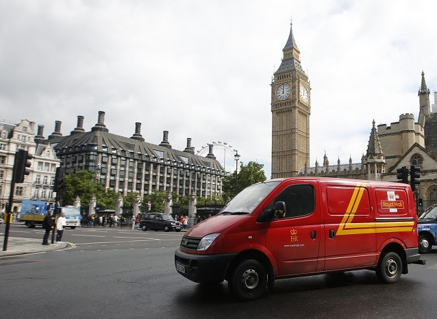 Royal Mail Shares UK Treasury