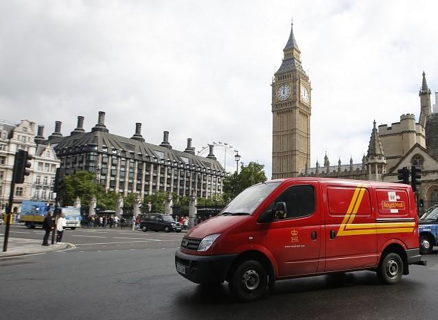 Royal Mail Shares UK Treasury