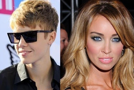 Justin Bieber and Lauren Pope