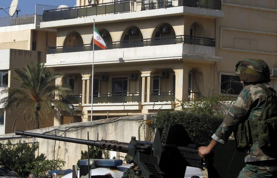 iran embassy lebanon bomb