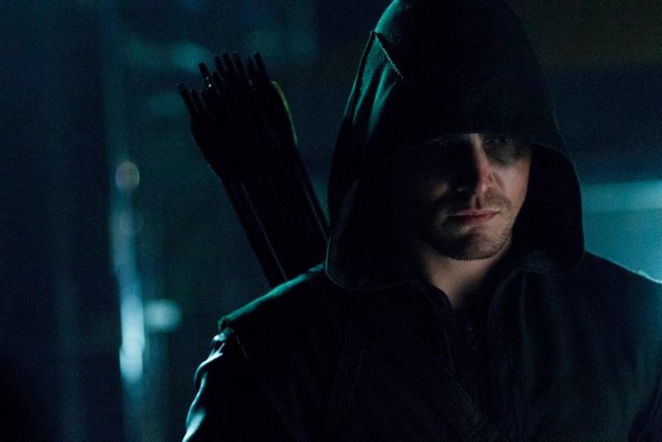 Still from a season 2 episode of Arrow