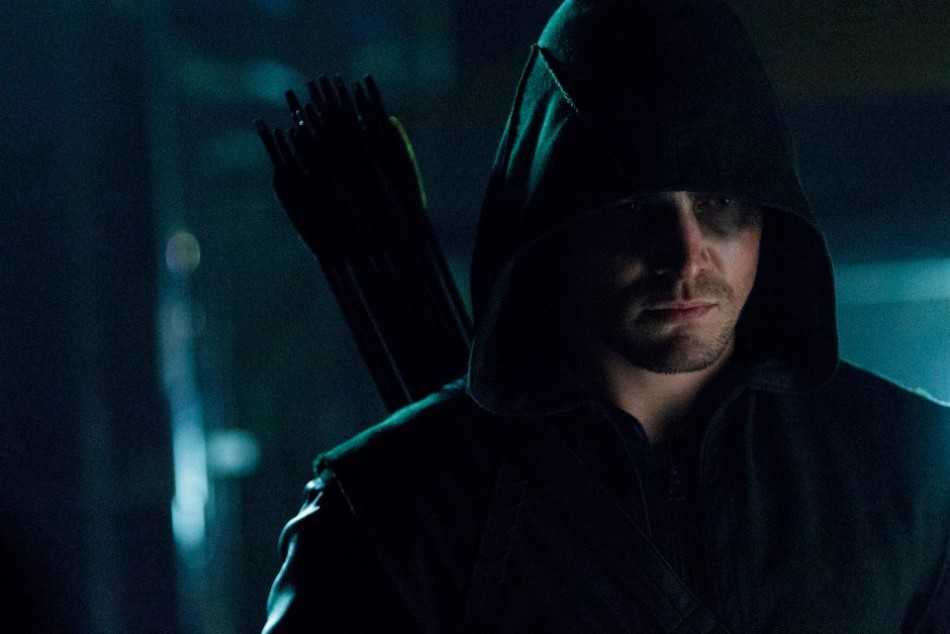 Still from a season 2 episode of Arrow