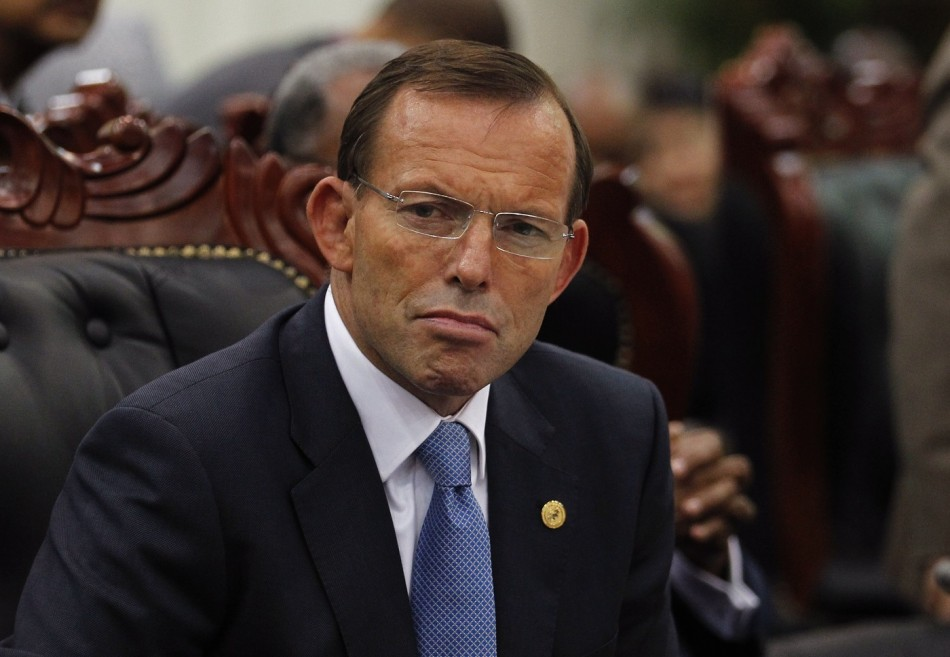 Australia Abbott Indonesia Spy