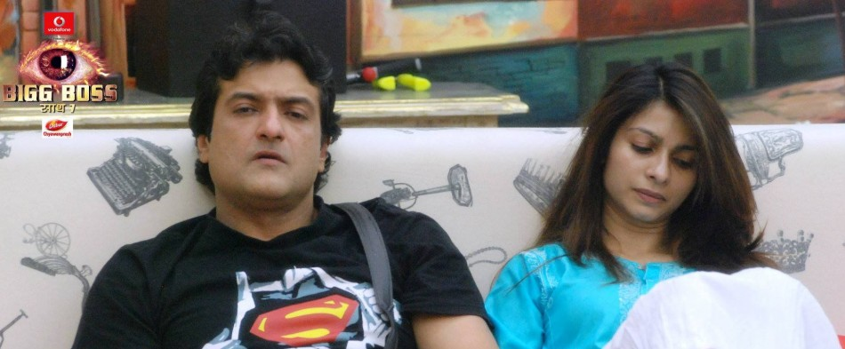 Bigg Boss 7 contestants Armaan and Tanisha declare love for each other